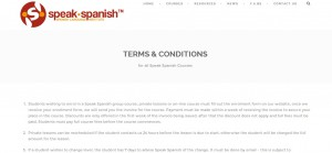 Terms & Conditions - click here