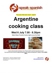 Argentine Cooking Class