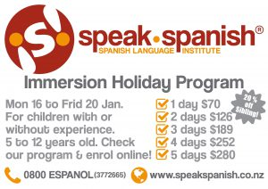 Immersion Holiday Program - click to enrol